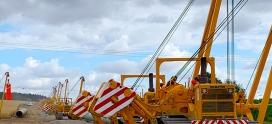 Ko-mats liefert Baggermatten für die EUGAL Pipeline